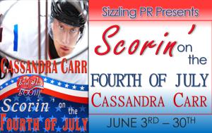Scorin on the Fourth CC Banner
