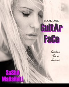 Guitar Face Book Cover New